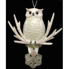 Harry Potter Inspired Owl Ornaments - #HarryPotter #Christmas #Ornaments