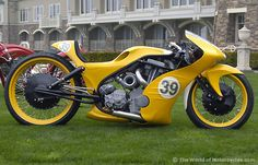 Gold Member' Dragster by Goldammer Cycleworks