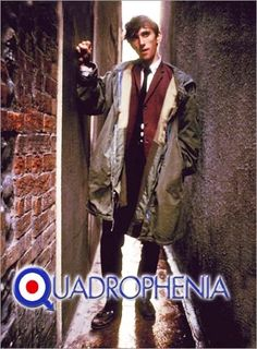 Phil Daniels in Quadrophenia Mod Fashion, Fashion Mode, Fred Perry Polo, Fishtail Parka, Mod Girl, Mod Scooter, Paul Weller, 60s Mod, Blu Ray