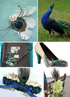 Wedding Blog - Peacock Wedding Theme