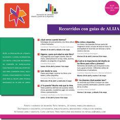 Visitar la Feria Internacional del Libro con ALIJA | Literarias | Por Gabriela Mariel Arias. Chart, April 25, Entryway, Literatura, Invitations