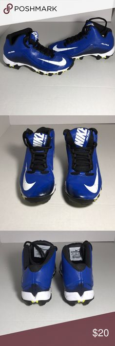 Nike Alpha Fast Flex Youth Football Cleats Excellent condition youth football cleats  Nike Alpha Fast Flex  Size 1 Nike Shoes Sneakers