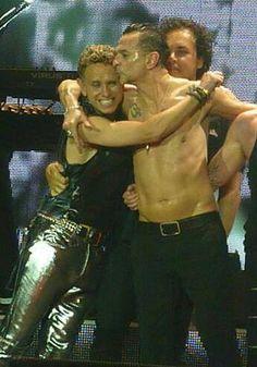 Dave Gahan & Martin Gore of Depeche Mode