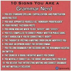 Grammar Memes, Bad Grammar, Grammar And Punctuation, Spelling And Grammar, Spelling City, Grammar Tips, Grammar Lessons, Very Funny Jokes, Funny Stuff