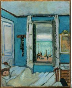 Étretat Interior, 1920, Nationalgalerie, Museum Berggruen   Henri Matisse.