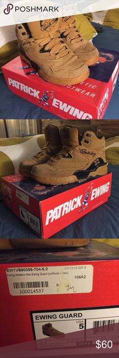Patrick Ewing Sneakers Patrick Ewing Sneakers size 5 men's/ 7 Women's. Basketball shoes. Ewing Athletics Shoes Sneakers