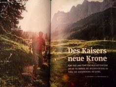 #Regram post to @pinterest Des Kaisers neue Krone im aktuellen #outdoormagazin Text von @fgjournalist   #wilderkaiser #hiking #schleierwasserfall #klettermekka #outdoor #kaiserkrone by moritzattenbergerphoto - #ViralInNature is named by Clutch.co as Canadas Top Social Media Marketing Agency http://vnat.ca/TopSocialMediaAgencyCanada2016 Visit us at http://bit.ly/1seeN6z