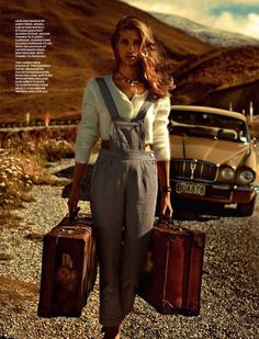70s Road Trip Editorials - The Cosmopolitan Australia Ill Take You There Photoshoot is Retro (GALLERY)