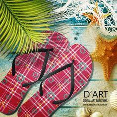 #plaid, #tartan, #plaidpattern, #tartanpattern, #nautic, #nautical, #marine, #maritime, #sailing, #boat, #anchor, #rudder, #ocean, #sea, #modern, #hipster, #preppy, #footwear, #footgear #flipflops #sandals #inaflashflipflops #zazzle #zazzler #zazzleshop #digitalartcreations