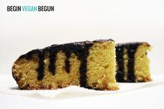 Bizcocho vegano de naranja #vegan #recipes #veganfood #chocolate