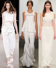Jonathan Saunders Spring 2015 Ready-To-Wear, Honor Spring 2015 Ready-To-Wear, & Osman Spring 2015 Ready-To-Wear.