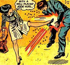 popular vintage kick comics dc comics Lois Lane Bronze Age women in comics Tamsyn O'Flynn Bob Oksner