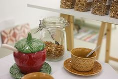 dosemente | granola artesanal no showroom de inverno