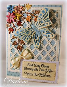 Dar's Crafty Creations: Untie the Ribbons . . .