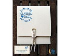 Invitaciones de boda con un toque original #boda #invitacionesboda #ideasoriginales