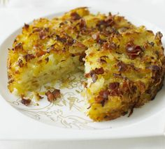 Grate potatoes into a hash brown-style patty and cook in the oven for a convenient and tasty side dish