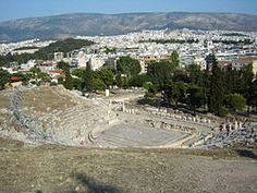 Teatre de Dionís del segle V a.C.