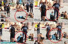Polisi Perancis Razia Pakaian Wanita Muslim di Pantai Dan Memaksa Dicopot  [portalpiyungan.com] Foto mengejutkan menjadi viral dan perbincangan media internasional dimana wanita muslimah mengalami pelecehan rasisme di Perancis. Dilansir Expres (23/8) foto mengejutkan (Shocking photographs) memperlihatkan dimana beberapa polisi Prancis bersenjatakan tongkat dan semprotan merica berbaris ke pantai 'melakukan razia' pakaian muslim dan memerintahkan seorang wanita muslim yang mengenakan burkini…