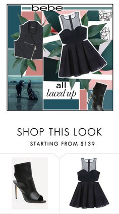 """""""All Laced Up for Spring with bebe: Contest Entry"""" by misskarolina ❤ liked on Polyvore featuring Color Me, Bebe, bebe and alllacedup"""