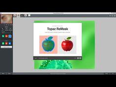 "TUTORIAL DE COMO USAR "" ReMask 4 TOPAZ "" - YouTube"