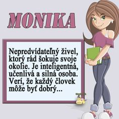MONIKA, n svoje meniny super sa maj, prajem Ti zo srdca iba to NAJ- ツڿ✿❥❀☆❁ღڰۣ Diy And Crafts, Family Guy, Scrapbook, Humor, Birthday, Books, Fictional Characters, Detail, Livros