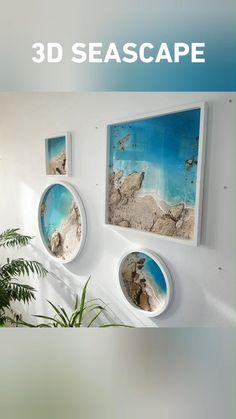 Resin Wall Art, Epoxy Resin Art, Diy Resin Art, Diy Resin Crafts, Diy Art, Diy Resin Projects, Art Projects, Diy Resin Table, Resin Furniture