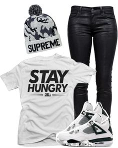 """swag outfits with jordans - """"Stay hungry. Stay foolish """" - Steve jobs"""