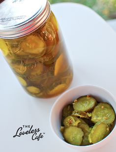 Make your own deliciously-crunchy Bread & Butter Pickles with this recipe from the Loveless Cafe