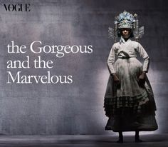 vogue korea_ OMG it is totally self-exoticising :-(