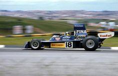 Última alegria com o TS16: o 4º lugar no GP do Brasil; depois a relação piloto-equipe se deterioraria e Moco sairia da Surtees