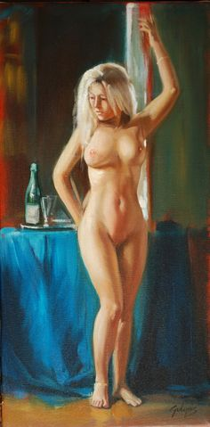 Laszlo Gulyas - Szőke nő (Blonde Woman) #2