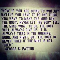 Body vs Mind