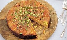 Simply Nigella: Apricot almond cake with rosewater and cardamom   Daily Mail Online