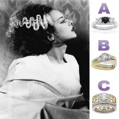 Which engagement ring would this famous bride prefer?