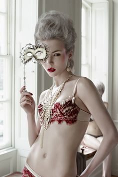 Photographer: John Wright  Styling: Natasha Freeman (Lingerie-Bordello,  Jewellery-Black Pearl,  Shoes-Irregular Choice)  Hair ...