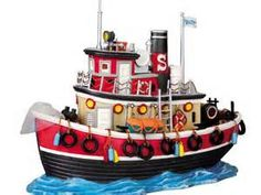 """Lemax """"Salty"""" the tug boat, 2009"""