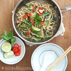 Homemade Noodles with Thai Basil Chicken & Prawn! We wanted a change from the usual rice so I thought I would try some homemade noodles. We happen to have a lot of Thai basil growing in our garden and… Continue Reading →