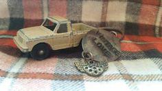 Tootsie toy truck keychain