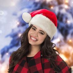 look out santa cause here comes sofia carson