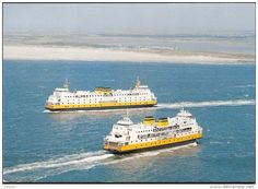 Ferries - Veerboot - Ferry - from Den Helder to Texel (The Netherlands) , ferrie paquebot