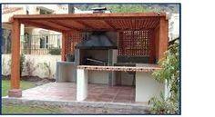 Pergola Ideas For Shade Backyard Retreat, Backyard Bbq, Backyard Projects, Outdoor Projects, Outdoor Fire, Outdoor Living, Parrilla Exterior, Bbq Kitchen, Weekend House