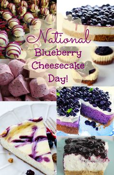 Got a craving for something, rich, cold, sweet, and delicious? These are perfect for satisfying your secret sweet pleasures and indulgences. Here are some Blueberry Cheesecake recipes for you! Let's get started! See recipes -----> http://www.discountqueens.com/may-26th-is-national-blueberry-cheesecake-day/