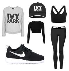 """""""Untitled #13"""" by anezka-majerova on Polyvore featuring Ivy Park, Topshop and NIKE"""