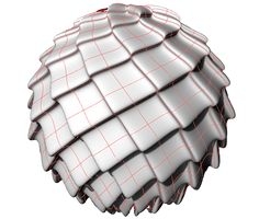 Phyllotaxis with NURBS - Grasshopper