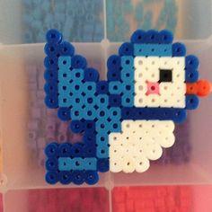 * Bird hama perler beads