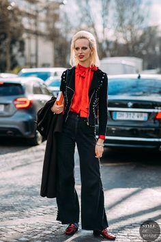 Paris FW 2018 Street Style: Lili Sumner