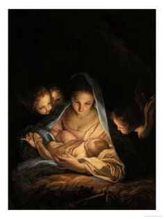 The Holy Night by Carlo Maratta: