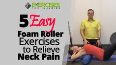 Last Sunday, I was able to go on boating. It was a perfect boating weather! Today, I will share a few foam rolling exercises that will help you decrease neck pain. ================================================ I wanted [. Exercise For Bad Back, Foam Roller Stretches, Back Pain Exercises, Foam Rolling, Back Pain Relief, Workout Accessories, Neck Pain, Easy Workouts, Fitness Workouts