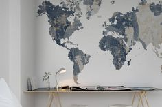 Your Own World, Battered Wall | R13924 | Rebel Walls ES