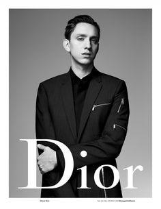 Singer Oliver Sim fronts Dior Homme's spring-summer 2016 campaign.